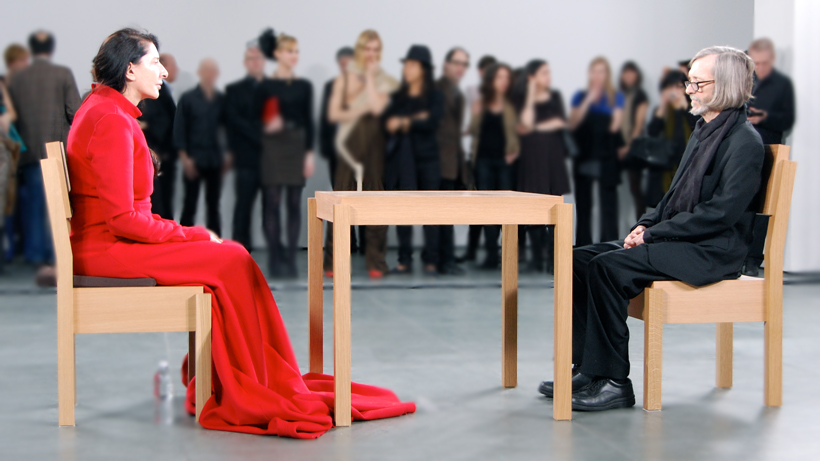 Marina Abramović, The artist is present | ©  wikimedia.org