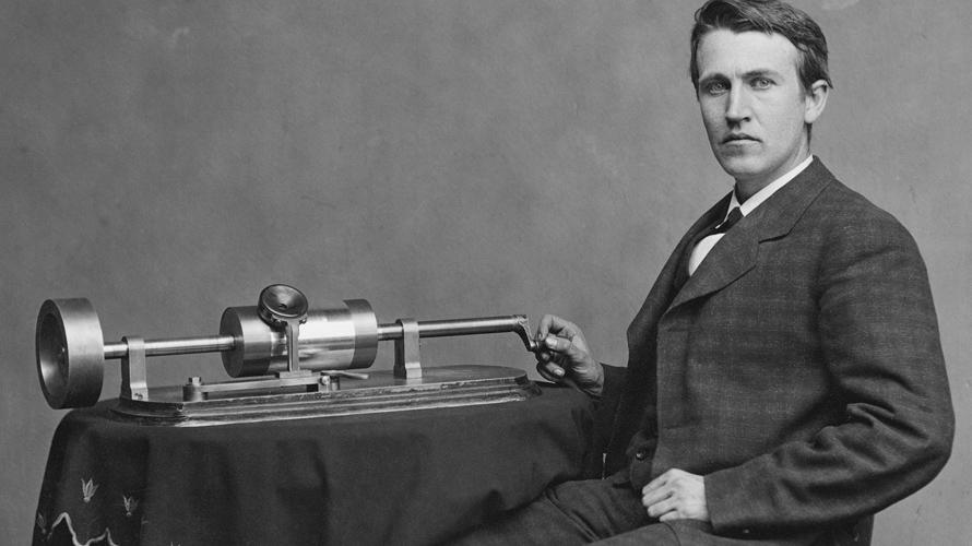 Thomas Alva Edison, fonograf, sijalica, pronalazač