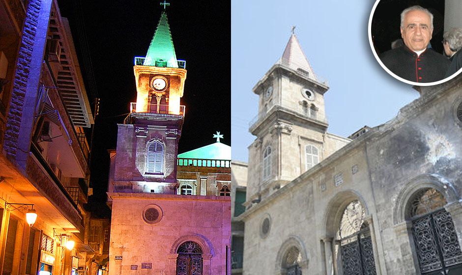 Crkva u Aleppu - prije i poslije
