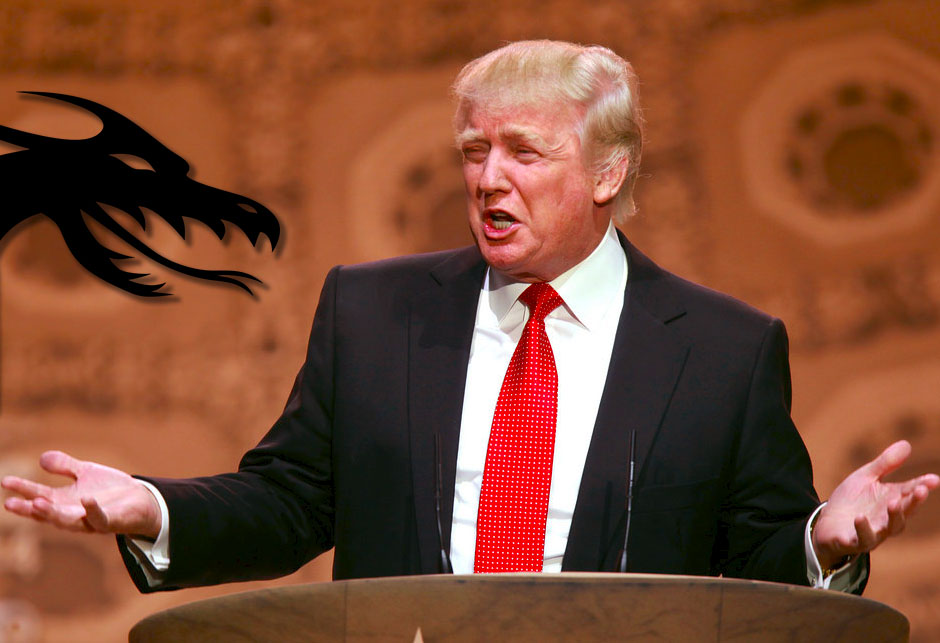Donald Trump - dragon