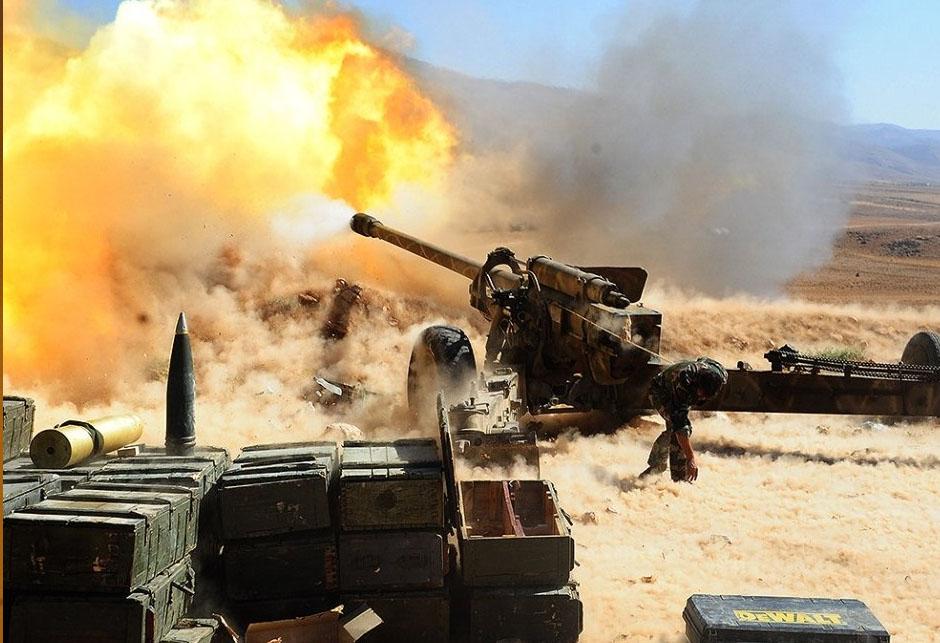 Sirijsko topništvo