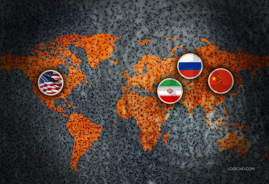 Geopolitika - Rusija - SAD - Iran - Kina - Logicno