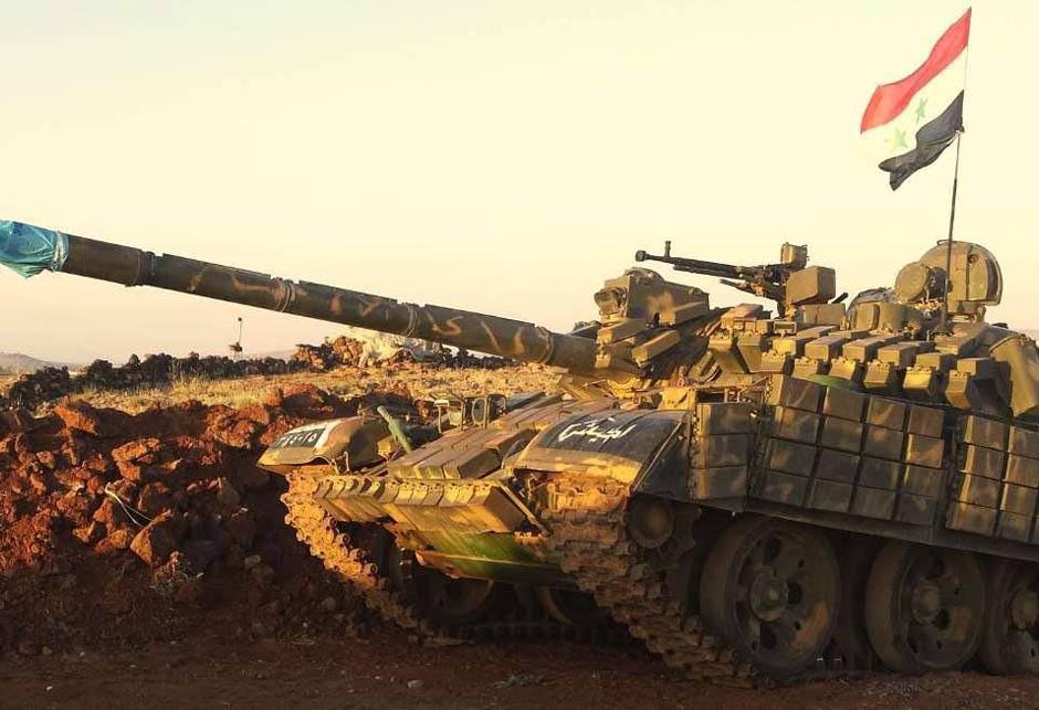 Sirija T-62