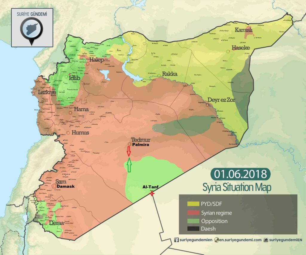 sirija Al tanf 01.06.2018