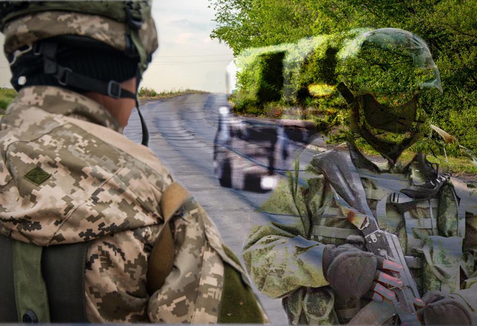 NATO Ruski vojnik los put