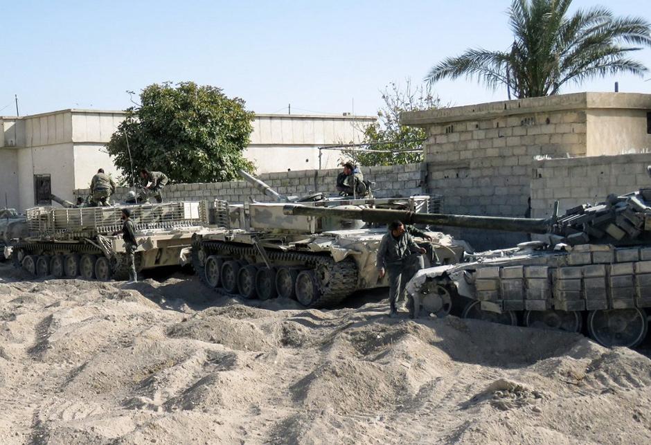 T-72 Sirija