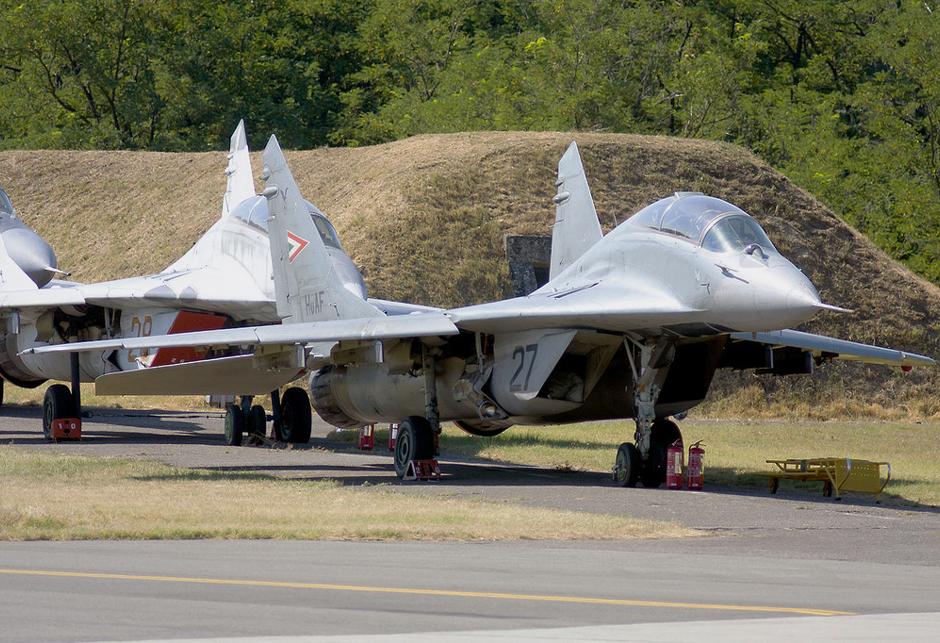 MiG-29 madjarska
