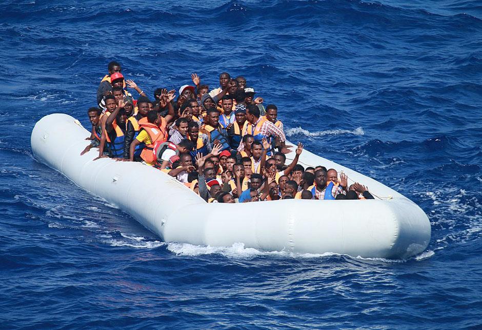 africke izbjeglice migranti crnci mediteran