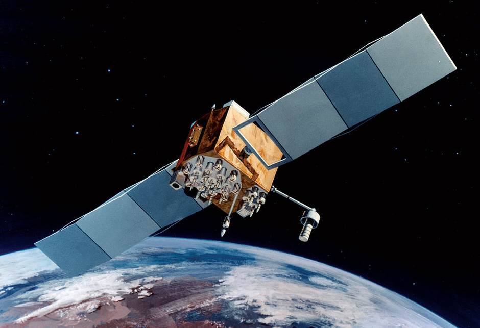 A Block IIF GPS satellite
