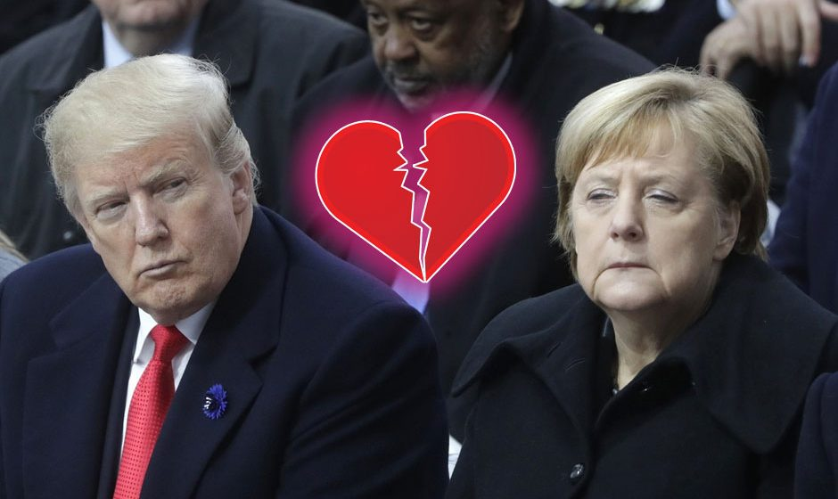 Washington ne nudi ništa osim bullying Trump-Merkel-940x560