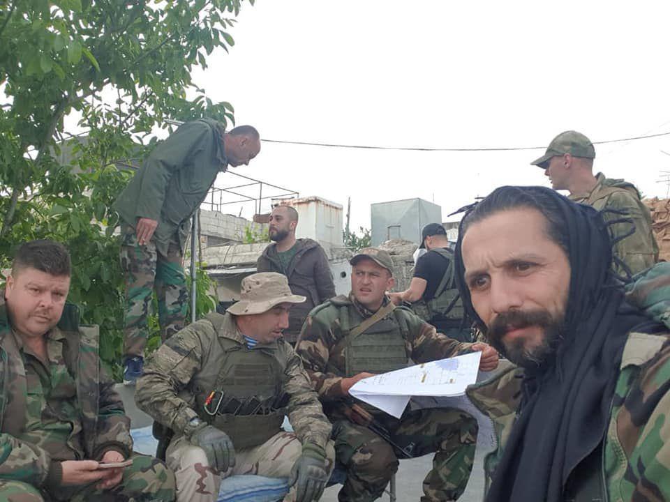 Ruske specijalne snage i vojni savjetnici u sjevernoj Hami