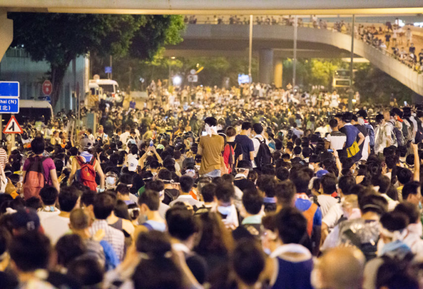 Hong Kong protesti