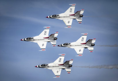 Thunderbirds F-16 USAF