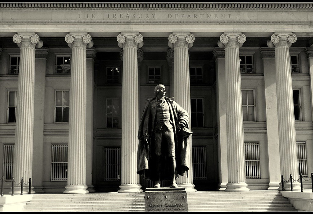 US treasury department sad