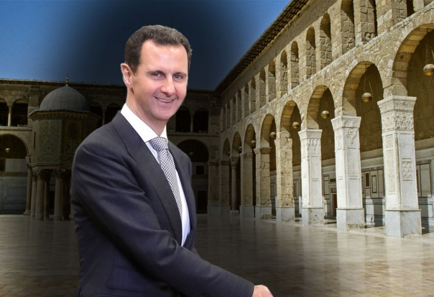 Bashar al-Assad - Damask