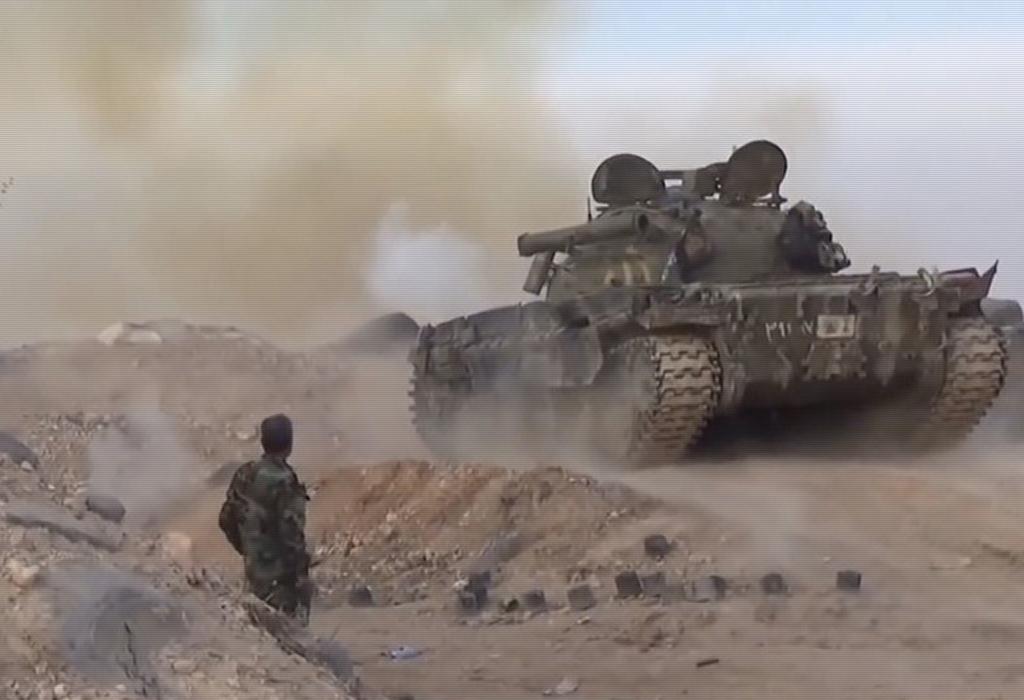 Sirija tenk T-55