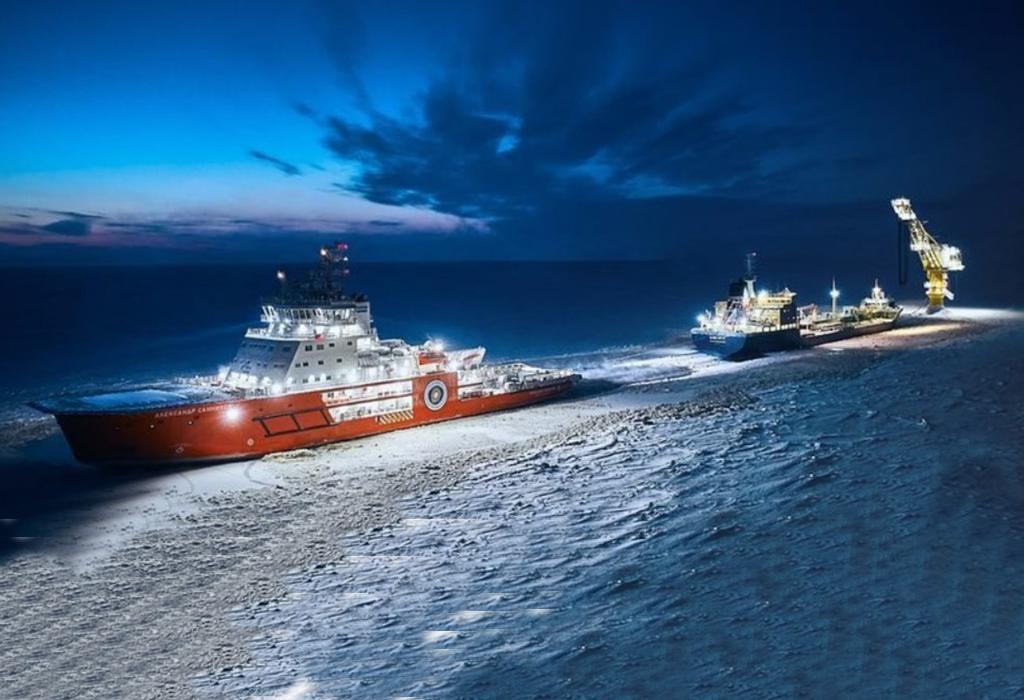 ruski brod - arktik