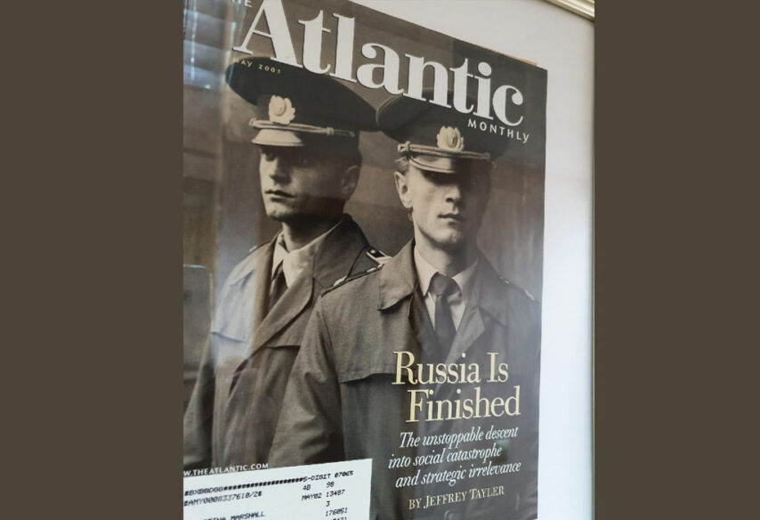Atlantic Monthly - Rusija je gotova
