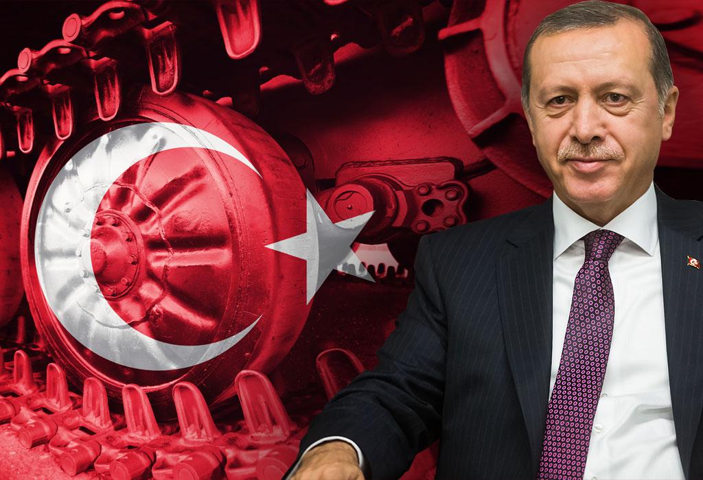 Erdogan kraj tenka