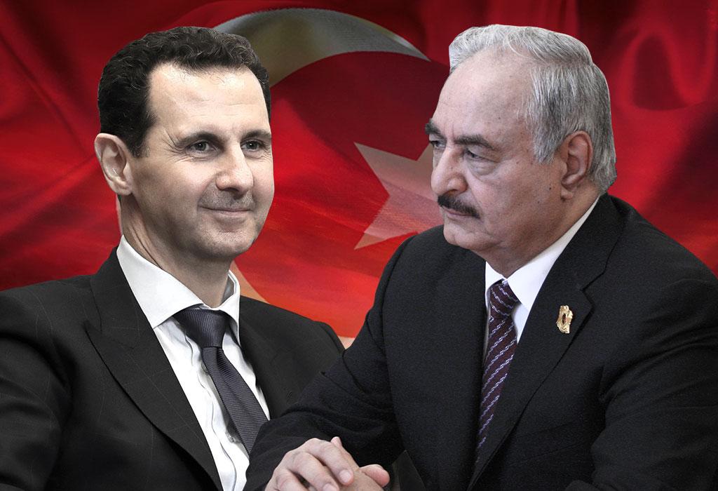 Assad i Haftar