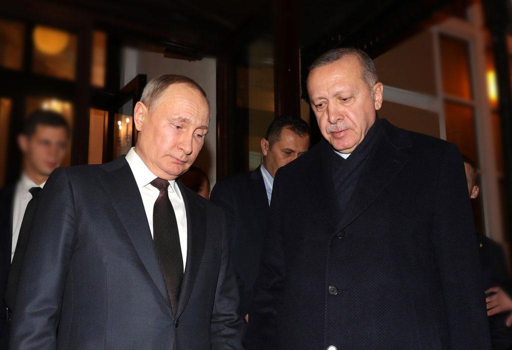 Putin i Erdogan - ozbiljni