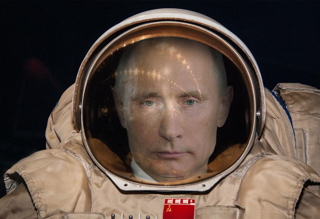 Putin Astronaut