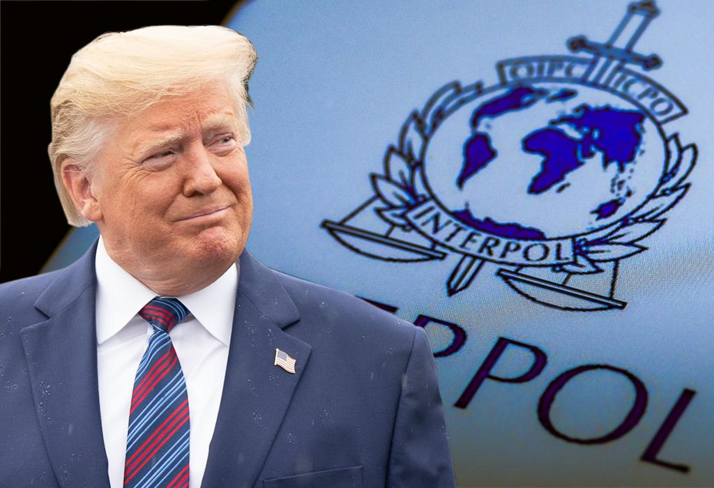 Donald Trump Interpol