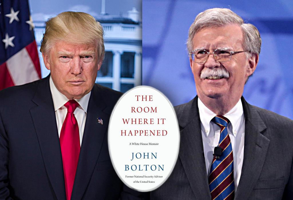 Trump i Bolton - knjiga o Bijeloj kući