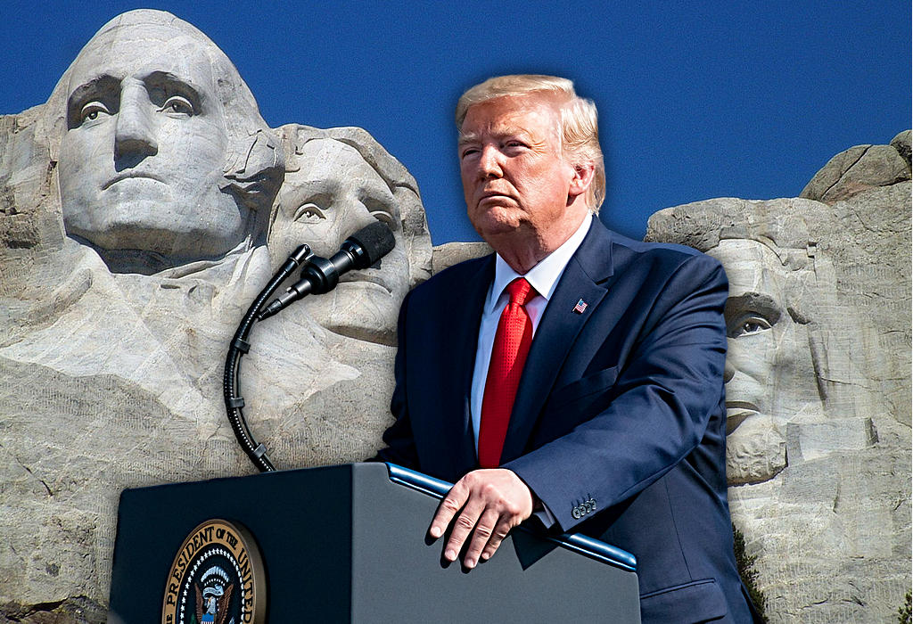 Trump - Mt. Rushmore