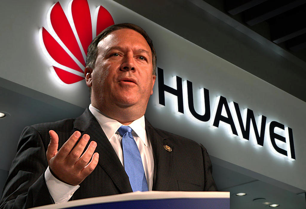 Pompeo - Huawei