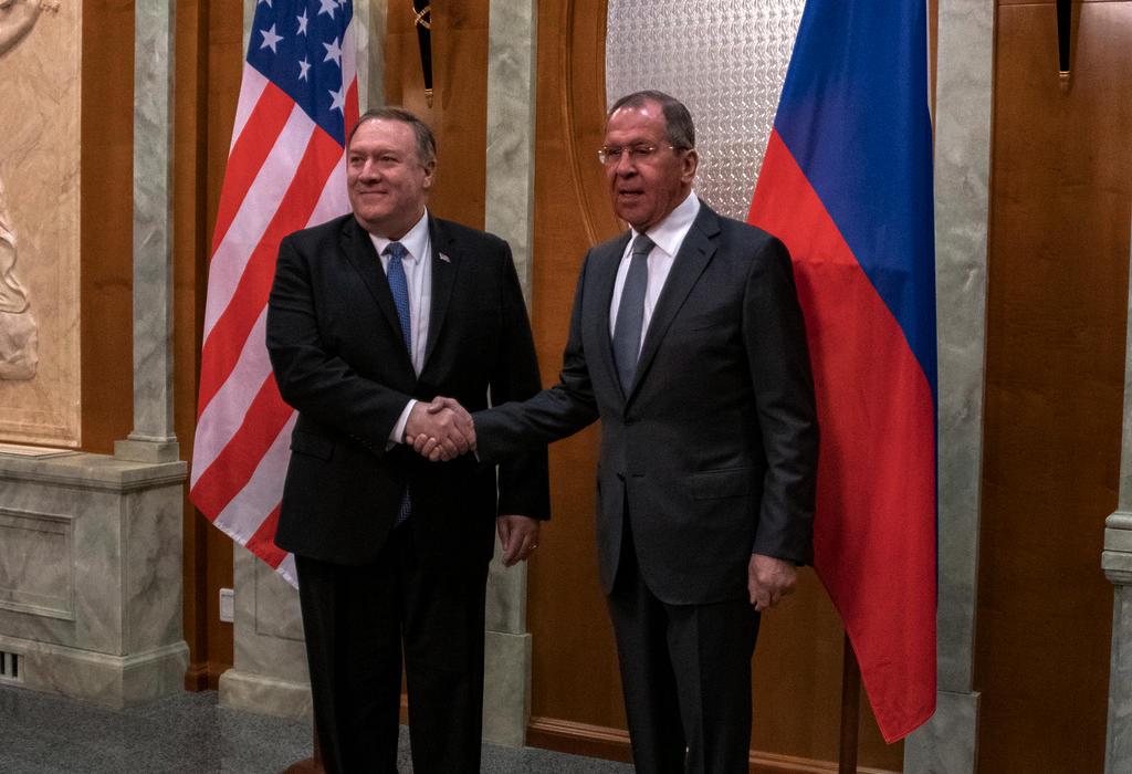 Pompeo i Lavrov