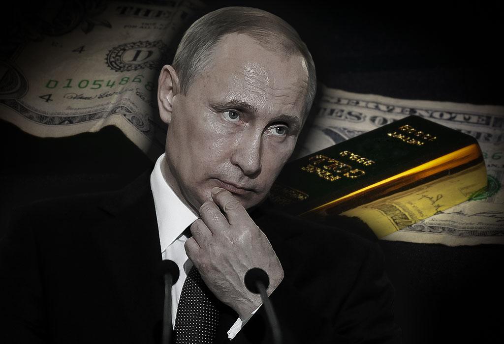 Vladimir Putin - zlato