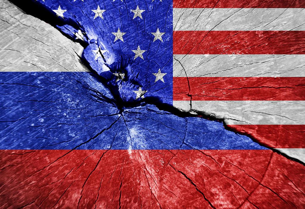 Zastave Rusija SAD