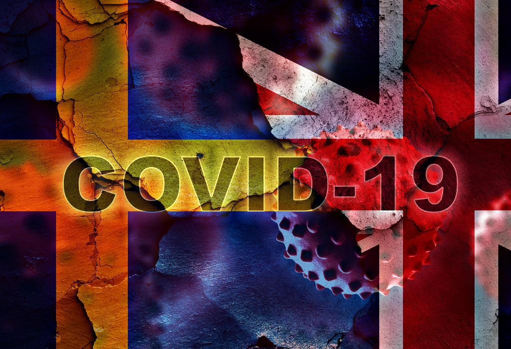 Covid-19 - UK i Švedska