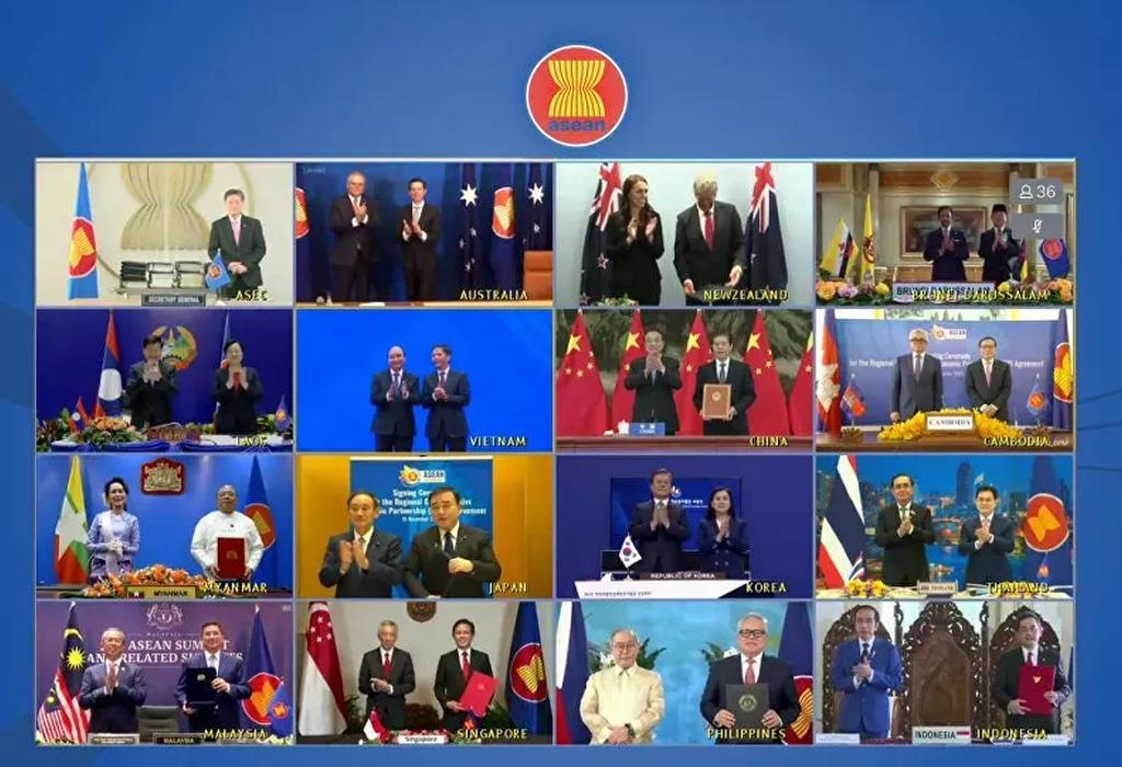 Ceremonija potpisivanja RCEP sporazuma