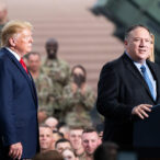 Mike Pompeo i Donald Trump