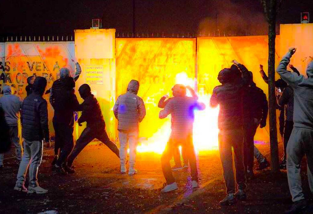 Irska prosvjedi