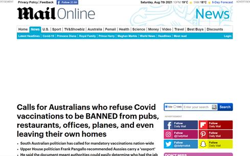 Totalna tiranija u Australiji – vojska na ulicama, policija ide po kućama, a građanima zabranjeno napuštanje zemlje 1